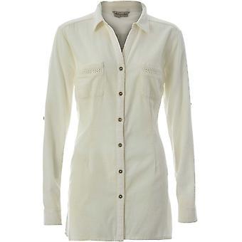 Royal Robbins Women's Cool Mesh Long Sleeve Eco Tunic - Cream