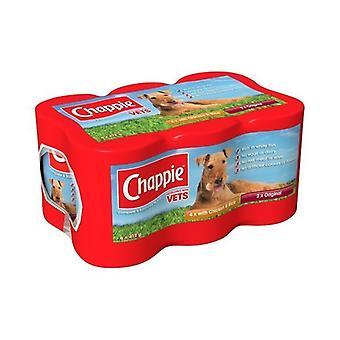 Nourriture pour chiens Chappie favoris variété Pack 6 x 412g