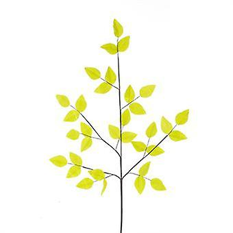 Artificial Velvet Leaf Spray