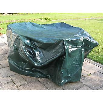 Charles Bentley Large tarpaulin muebles de jardín cubierta-verde