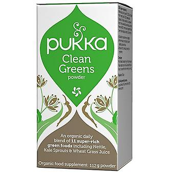 Pukka Clean Greens Powder 112g