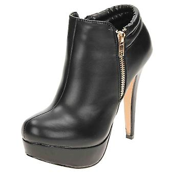 Koi Footwear High Heel Stiletto Platform Ankle Boots