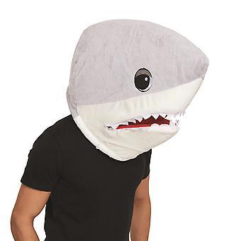 Bristol Novelty Unisex Adults Shark Mascot Mask
