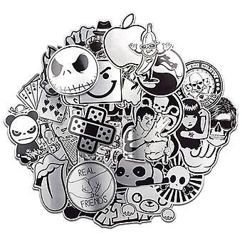Stickers, 50 pack-Metallic