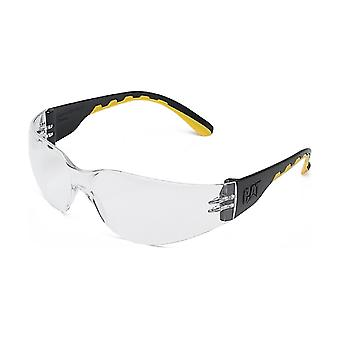 Caterpillar Mens Track Protective Eyewear Clear