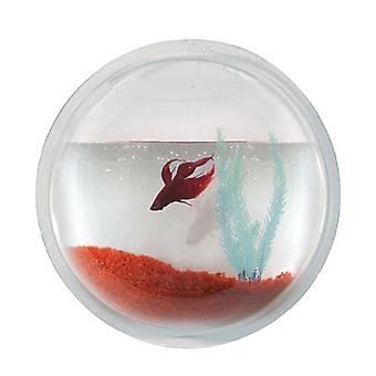 Modern Home Fish Bubble - Deluxe Acrylic Wall Mounted Fish Tank