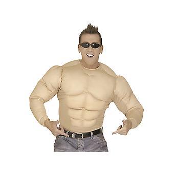 Herren Kostüme Super Muskelshirt