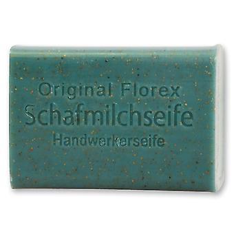 Florex Schafmilchseife - Handwerkerseife - reinigt stark verschmutzte Hände mit Lanolin pflegend 100 g