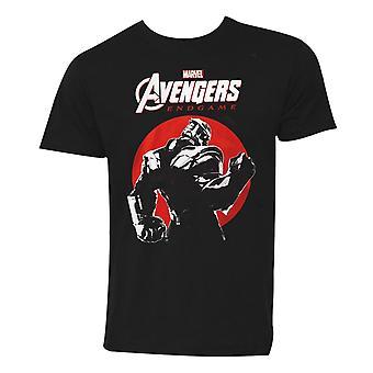 Avengers Endgame Thanos Sunset Miesten ' s T-paita