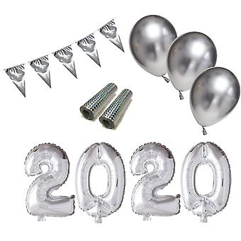 Balloons and Decorations for New Year's Eve 2020