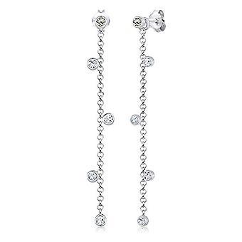 Elli Pendulum Earrings And Silver Women's Drop 310872317