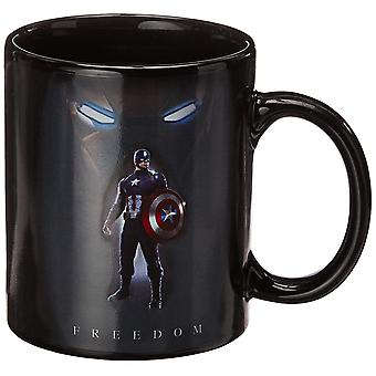 Mug - Marvel - Captain America Civil War Stand Cup Heat Chnage  New cmgc-cw-tcfd
