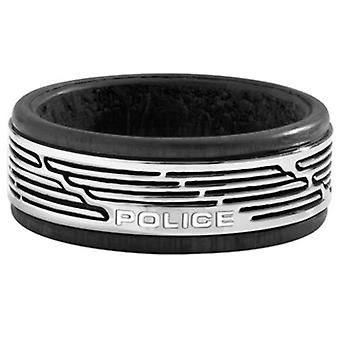 Police Man Stainless Steel Ring Size 22 PJ.26470RSS-01-10