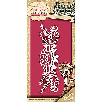 Find It Trading Yvonne Creations Die-Holiday Garland, Noel traditionnel