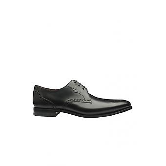 Loake Design Hannibal Calf Punched Derby Shoe Noir