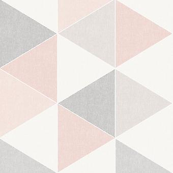Scandi Geo Triangle Papier peint Arthouse
