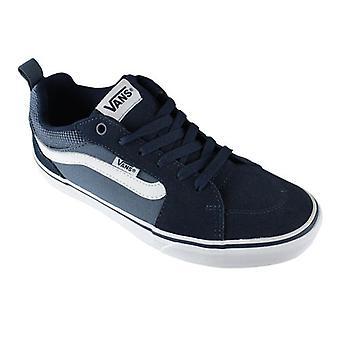 Vans schoenen Skate bestelwagens Filmore Suede Canvas Dress Blues 0000086144_0
