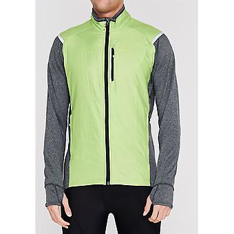 Sugoi Mens Gents Alphahybrd Zip Front Training Jacket Sports Outerwear