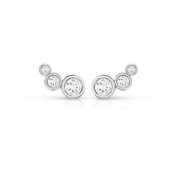 Guess Jewellery Guess Crystal Beauty Silver Earrings UBE84124