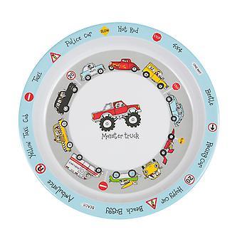 Tyrrell Katz Cars Design Melamine Children's Plate