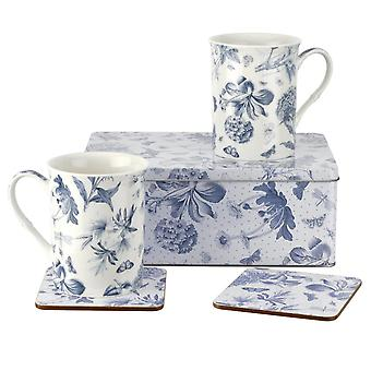 Portmeirion Botanic Blue 5 Piece Tin Set