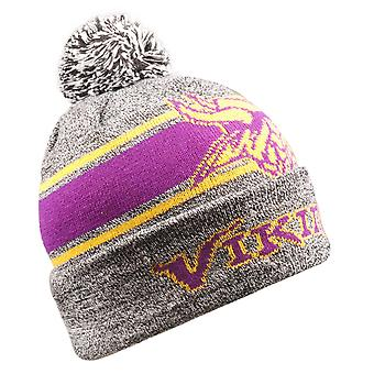 LED Minnesota Vikings Winter Hat Bommel Beanie