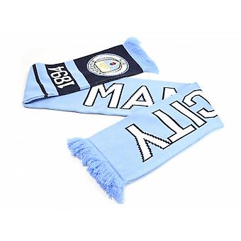 Manchester City FC Official Football Nero Scarf