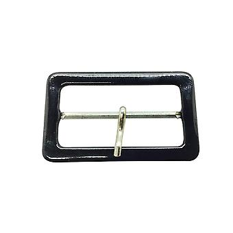 50mm x Black Belt Buckle con one Pin