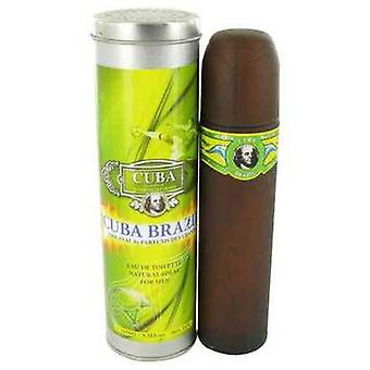 Cuba Brasil av Fragluxe Eau de Toilette spray 3,4 oz (menn) V728-492311