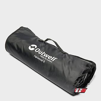 New Outwell Harwood 6 Tent Carpet Grey