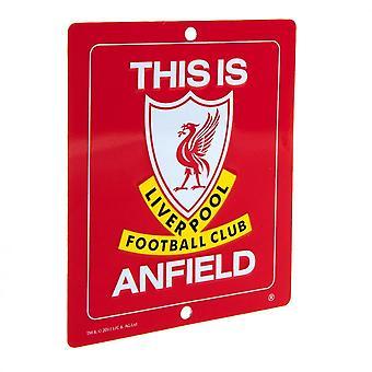Liverpool FC ufficiale questo è segno di Anfield finestra