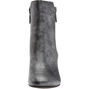 Kenneth Cole Nova York mulher rima Bootie com zip duplo bloco de couro...