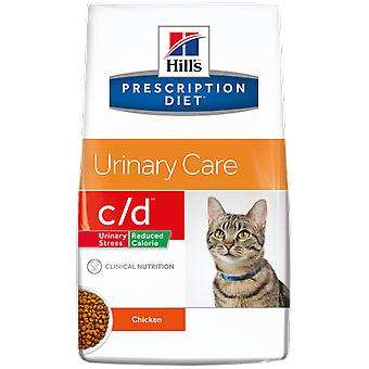 Hill's Prescription Diet c/d Urinary Reduced Calorie (Cats , Cat Food , Dry Food)