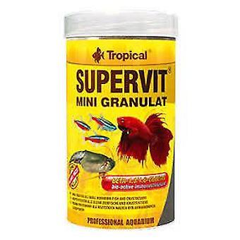 Tropical Supervit Mini Granules 100 Ml (Fish , Food , Warm Water)
