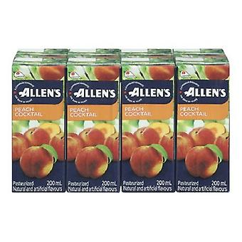 Allens Tetra Pesca Cocktail-( 200 Ml X 8 Can )
