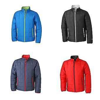 James and Nicholson Mens Padded Lightweight Jacket