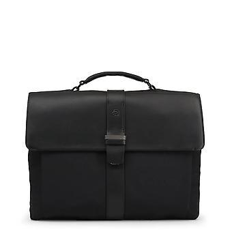 Piquadro Original Men All Year Briefcase - Black Color 55420