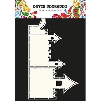 Dutch Doobadoo Dutch Card Art Stencil castle A4 470.713.626