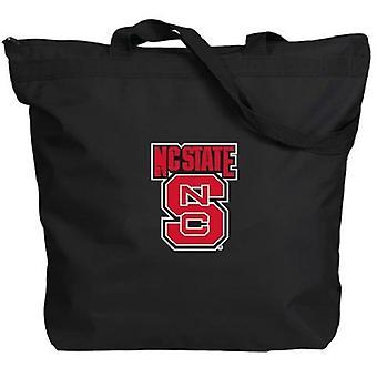 NC Estado Wolfpack NCAA Zipper Tote Bag