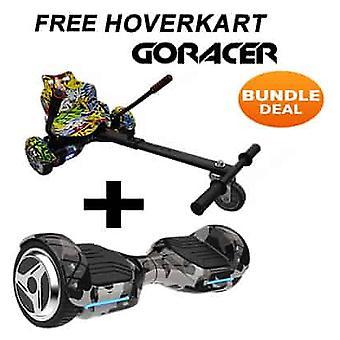 G PRO Camo Segway con un Racer Hip Hop Hovercart