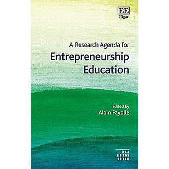 Un programme de recherche pour l'éducation à l'entrepreneuriat par Alain Fayolle - 9