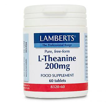 Lamberts L-Theanine 200mg Tablets 60 (8320-60)