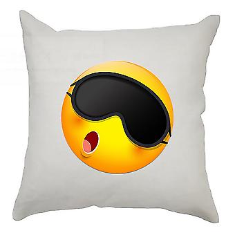 Emoji Cushion Cover 40cm x 40cm Sleeping