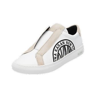 DKNY CALLIE Dames Loafer White Slip-Ons Business Shoes