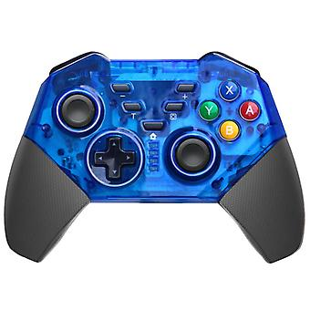 Trådlös kontroll Nintendo Switch/PC - Transparent blå