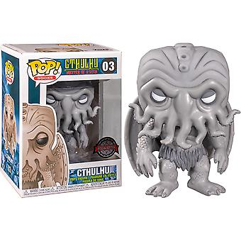 HP Lovecraft Cthulhu Black & White US Excl Pop! Vinyl