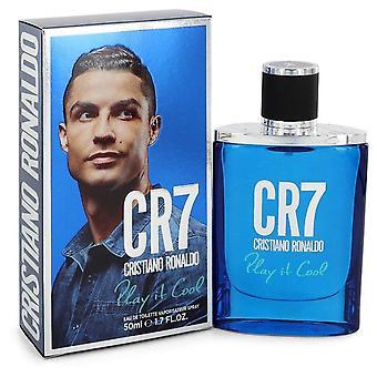 Cr7 spela det cool Eau de Toilette Spray av Cristiano Ronaldo 1,7 oz Eau de Toilette Spray