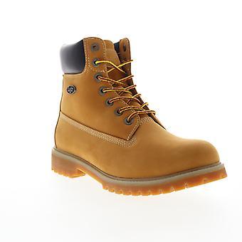 Lugz Convoy Fleece Wr  Mens Brown Nubuck Casual Dress Boots Shoes