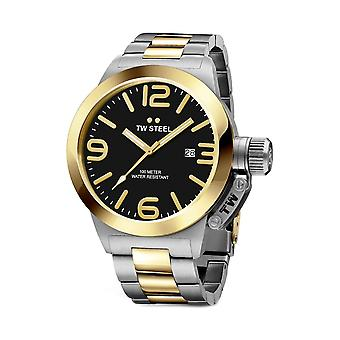 TW Steel CB41 Canteen Mens Watch - Silver/Gold