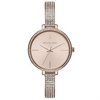 Michael Kors MK3785 Jaryn Crystal Rose Gold Dial Ladies Watch